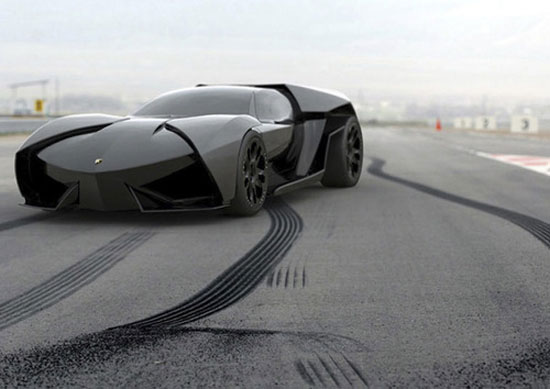 Lamborghini Ankonian by Slavche Tanevski Car concept Design. Vehicle For The Future