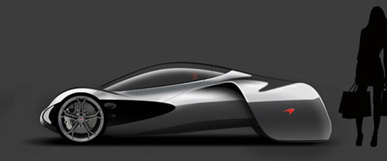 McLaren JetSet by Marianna Merenmies Car concept Design. Vehicle For The Future