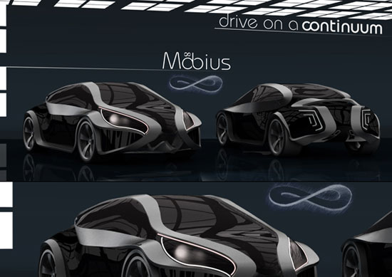 Mobius by Tommaso Gecchelin Car concept Design. Vehicle For The Future
