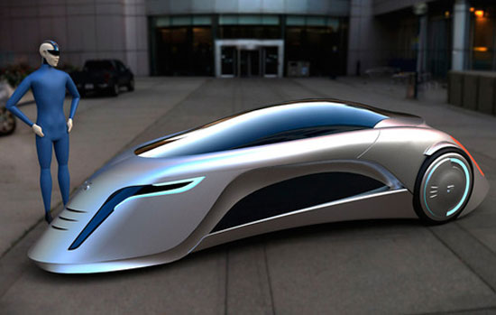 Supersonic by Marko Lukovic Car concept Design. Vehicle For The Future