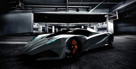 The Ferruccio by Mark Hostler Car concept Design. Vehicle For The Future