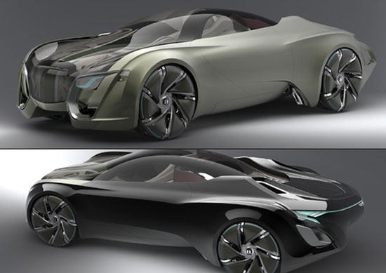 The Jeckyll and Hyde by Bora Kim Car concept Design. Vehicle For The Future