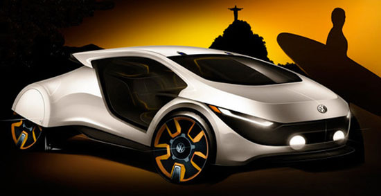 Volkwagen Outside by Luiz Antonelli Car concept Design. Vehicle For The Future