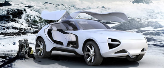 eXtremes by Marianna Merenmies Car concept Design. Vehicle For The Future