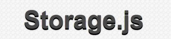 Storage.js Tool for web designers