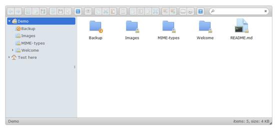 elFinder Tool for web designers