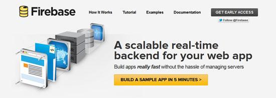 Firebase Tool for web designers