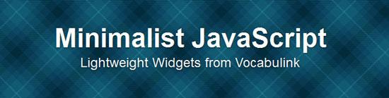 minjs Tool for web designers