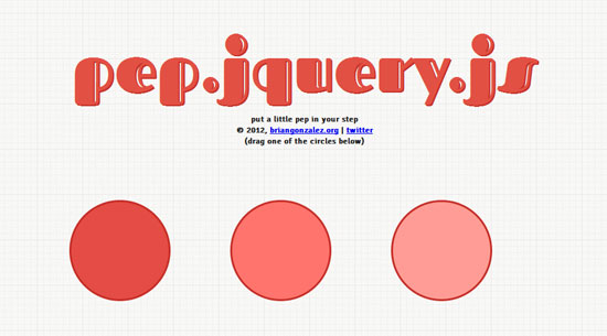 pep.jquery.js Tool for web designers