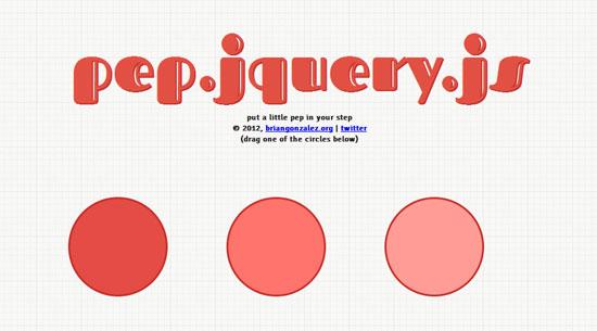 pep.jquery.js Tool for web designers