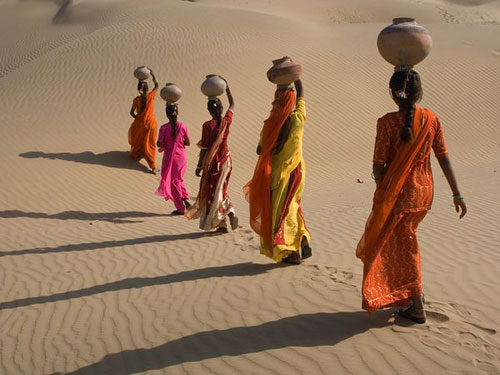 Desert Crossing Rajasthan, India Photography