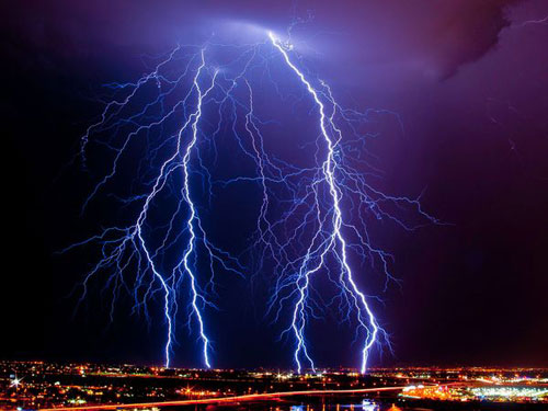 Lightning, Arizona Photography