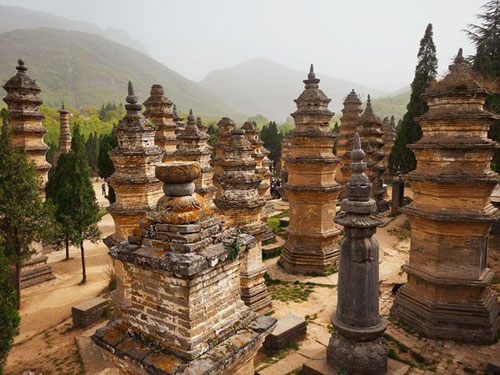 Pagoda Forest, China Photography