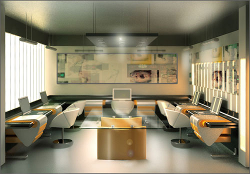 The way workplaces should look like new showcase for Interior design office inspiration