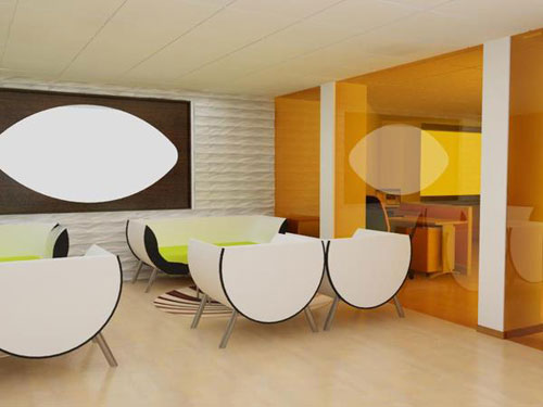 Textile Company Interior Design2 The Way Workplaces Should Look Like   New  Showcase