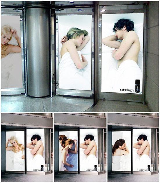 Axe Effect Outdoor Advertising