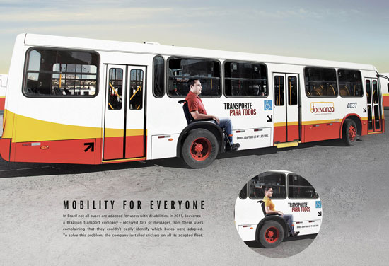 Joevanza: Mobility for Everyone Outdoor Advertising