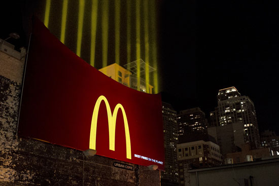 McDonald's Fries Outdoor Advertising