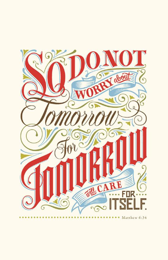 Tomorrow Typography Experiment