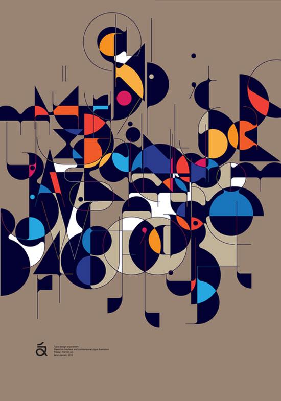 Qalto typeface Typography Experiment
