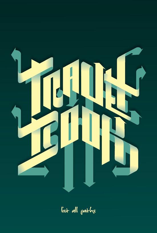 Luis Bonadio Typography Experiment