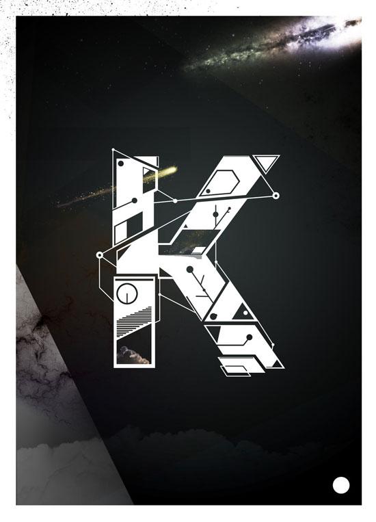 K Typography Experiment