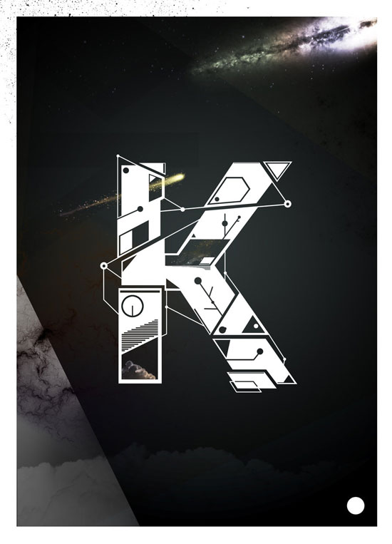 K Typography Experiment