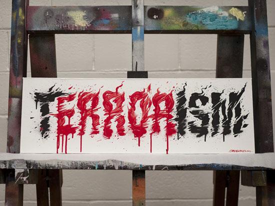 Terrorism Typography Experiment