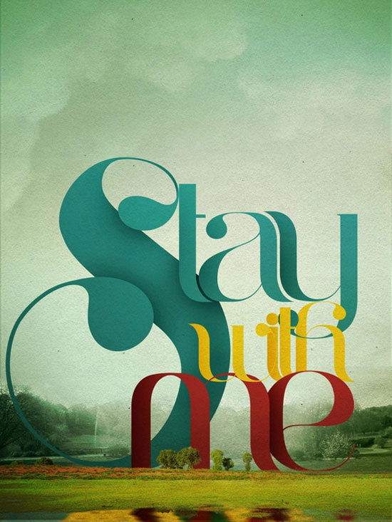 Stay Typography Experiment