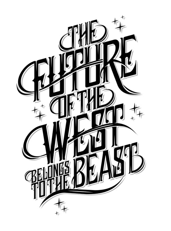 Type treatment Typography Inspiration
