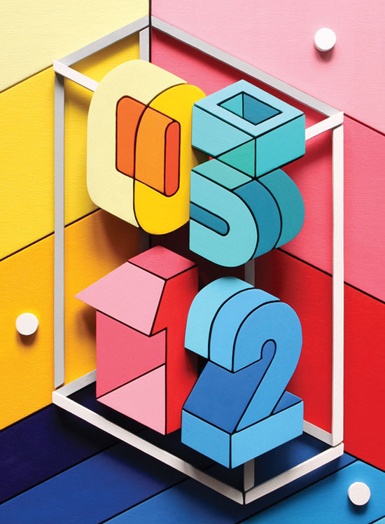 Features opener for Wired UK Typography Inspiration