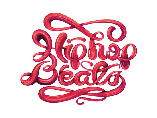 Hip Hop Beats / Lettering Design Typography Inspiration