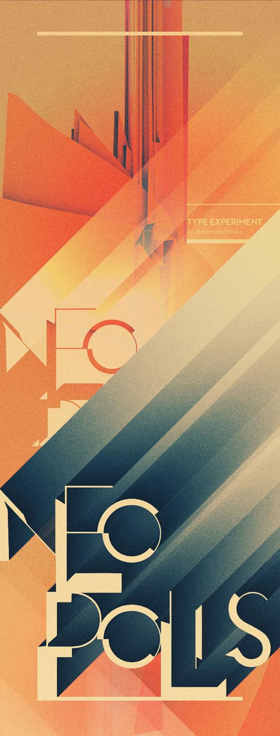 NEOPOLIS Typography Inspiration