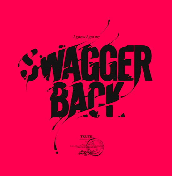 Swagger Back Typography Inspiration