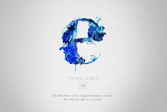 Typogames Typography Inspiration