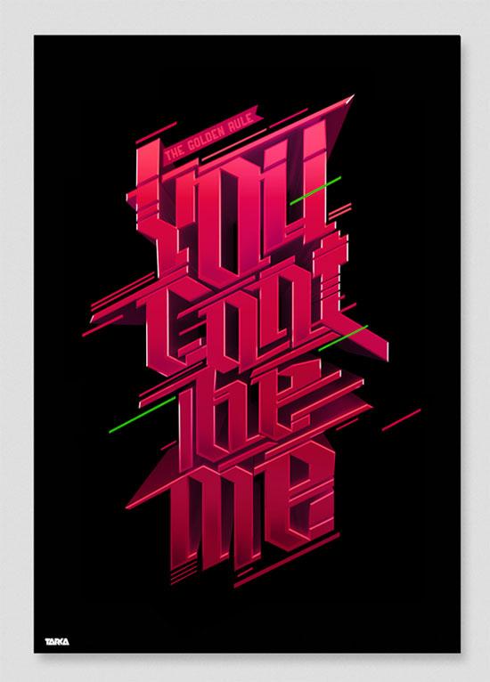 YCBM Typography Inspiration