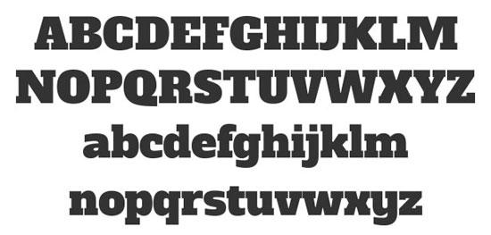 Alfa Slab Free font for download