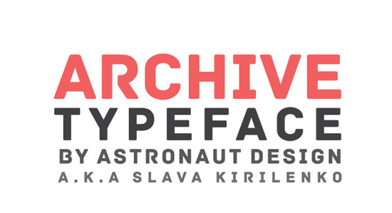 Archive Free font for download