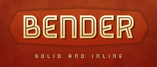 Bender Free font for download
