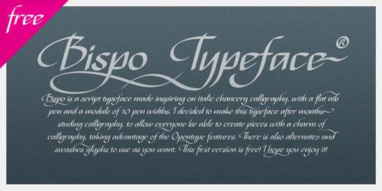 Bispo Free font for download