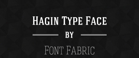 Hagin Free font for download
