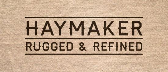 Haymaker Free font for download