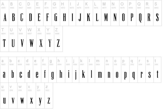La Tribune CP Free font for download