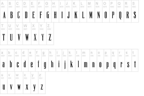 La Tribune CP Free font for download