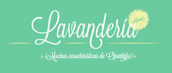 Lavanderia Free font for download