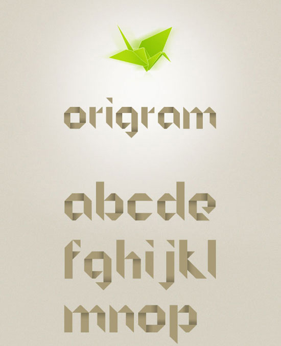 Origram Free font for download