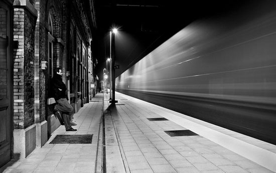 Last passenger  Night Photography