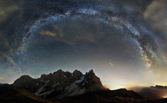 The Crown of the Dolomites Night Photography