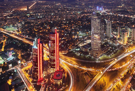 Istanbul's night Photography