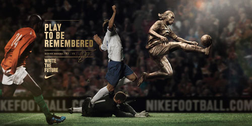 Nike Write Future Drogba Print Magazine Ads That Boosted The Brands Popularity